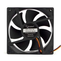 GEMBIRD S9225H-3P4M, 92x92x25mm, 22,5dBa, 2000rpm, 3-4pin+Molex вентилятор